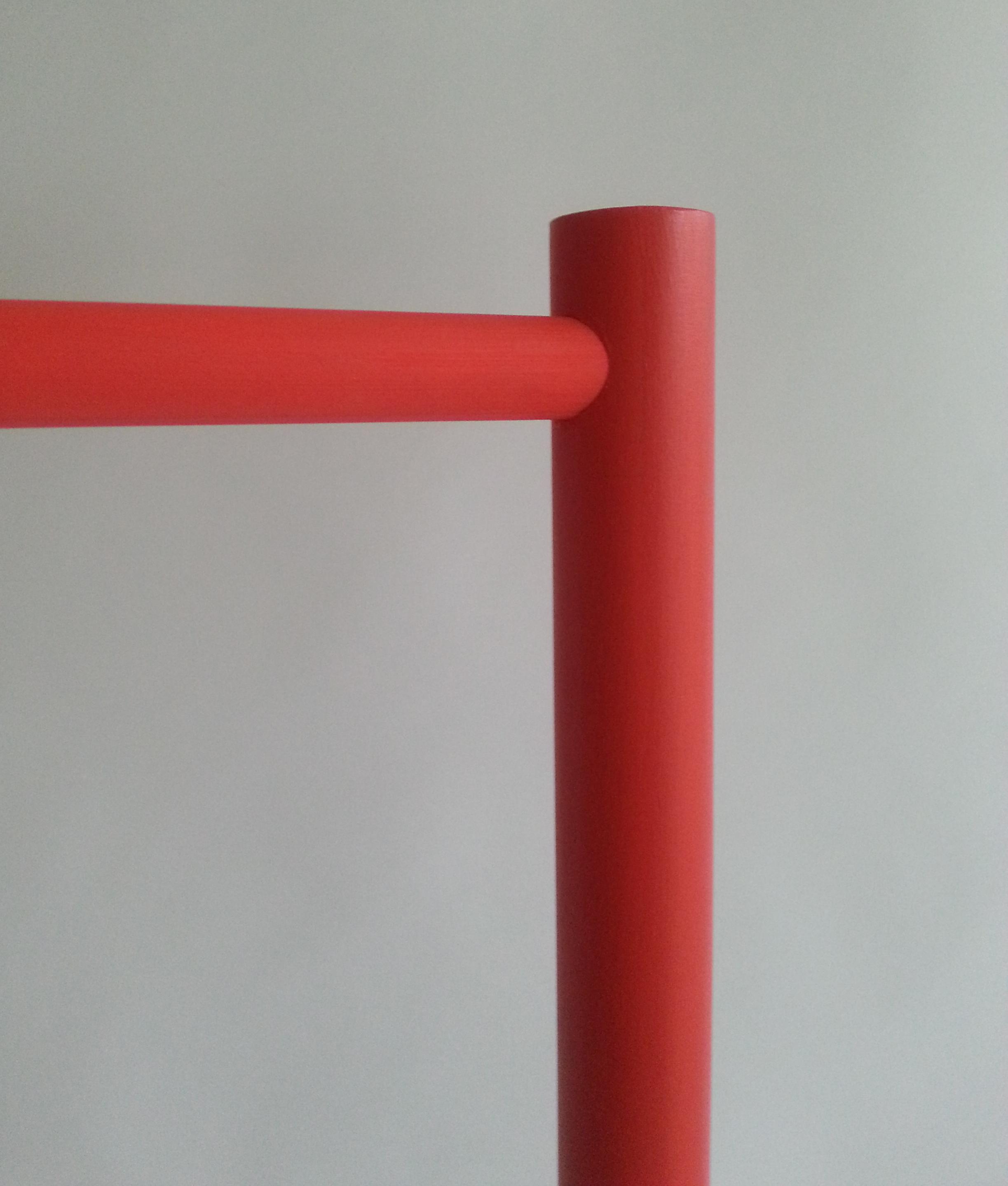 Anna Agger Industridesign Mellby Klädställning röd