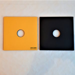Grytunderlägg gul/svart