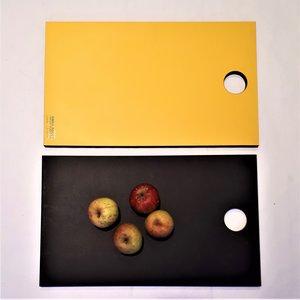 Gislöv skärbräda gul/svart