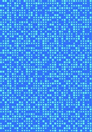 Krokbräda Blå dot 2